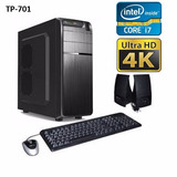 Pc Intel I7 7700 7ta Gen 16gb 1tb Hdmi 4k Gabinete Combo