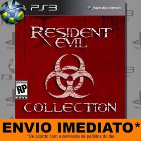 Jogo Ps3 Combo Super Pack Resident Evil Pay 3 Digital Psn