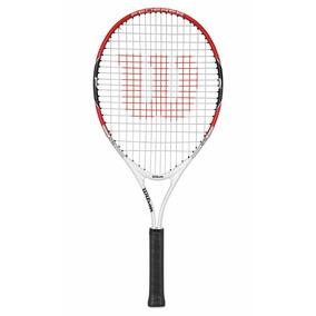 Raqueta Para Unisex Wilson - Federer 25 Rojo/blanco - Tenis