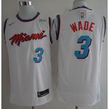 Camisa Dwyane Wade 3 Miami Heat Oficial - Frete Gratis