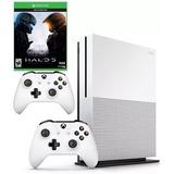 Xbox One Slim 1tb + 2 Controles + Halo 5 + Envio