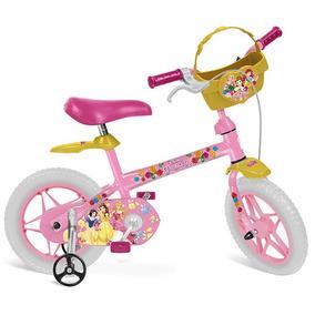 Bicicleta - Aro 12 - Disney - Princesas Disney - Bandeirante