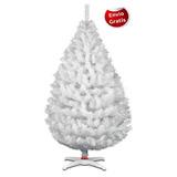 Arbol De Navidad Naviplatic Balsam Blanco 220 Cm +regalo