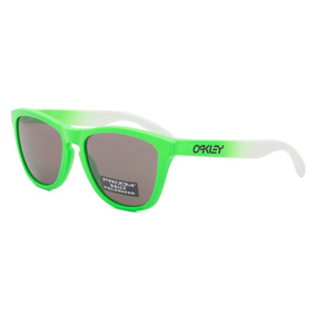 2f6815e52a880 Oakley Green Fade Frogskins - Óculos no Mercado Livre Brasil