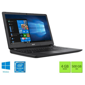 Notebook Acer Dual Core N3350 4gb 500gb Win10 15.6 Hd