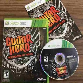 Jogo Guitar Hero Warrios Of Rock Xbox 360 Seminovo Físico