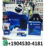 Sony Playstation 4 Pro 1tb Con 2 Controladores Inalámbricos