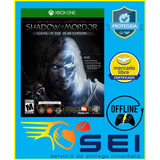 Shadow Of Mordor Game Of The Year Xbox One Offline