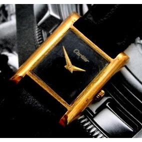 Must De Cartier A Corda Plaquê Ouro 18k Antigo