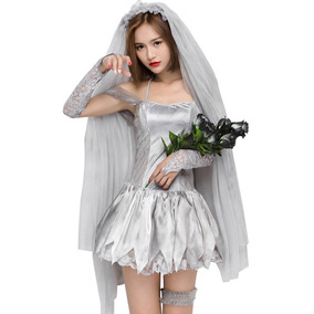 Disfraces De Halloween Mujer Novia Muerta Cosplay 2018 Sexy 1972337fce0c