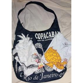 Kit Rio De Janeiro 2 Camisetas + Bolsa