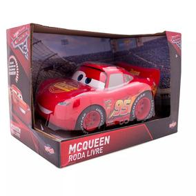 67b7a00cbb3 Car Disney Cars Roda Livre Relâmpago Mcqueen 40cm - Brinquedos e ...