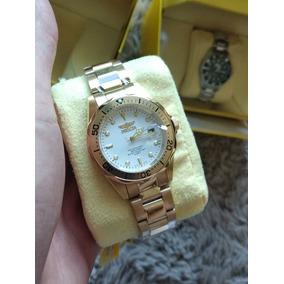 e7cce9ff8e0 Relogio Vip Quartz Dourado Invicta - Relógios De Pulso no Mercado ...