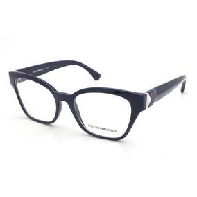 3b9af87482b2b Armação Óculos De Grau Feminino Emporio Armani - Óculos no Mercado ...