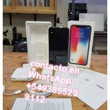 Nuevo Apple Iphone X 256gb Sellado En Caja