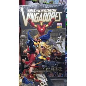 Os Vingadores Iniciativa Ultron Encadernado Panini Lacrado