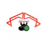 Hockey Sobre Mesa Balon Futbol Porteria Luces Flota /e