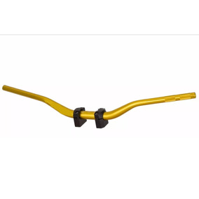 Guidão Esportivo Moto Naked Dourado Hornet Xj6 Cb300