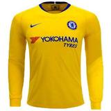Camisa Chelsea Manga Longa - Camisa Chelsea Masculina no Mercado ... 7212ea0af9979