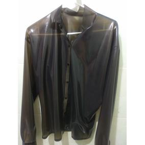 Ropa De Latex - Camisa Manga Larga Transparente