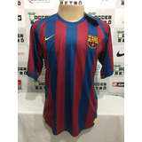 Camisa Barcelona Final Champions League 2006 Ronaldinho 10
