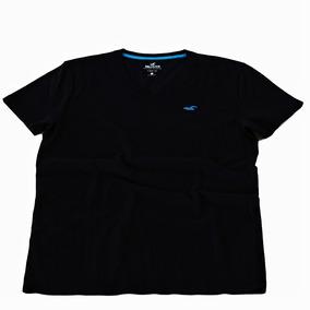 Camiseta Hollister Surf Team. Decote V - Camisetas e Blusas no ... 2b461142fc795