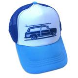 Sombrero De Camionero Sol Baby Surf Woody Car Hat-s-blue a4e39953375