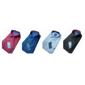 Kit 2 Camisas Social Dudalina Masculino Slim Fit