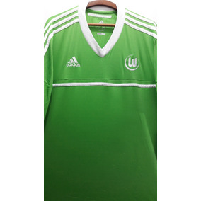 13a0c80c98 Camisa Wolfsburg adidas Lobo Temporada 2012 13 Novo