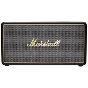 Bocina Bluetooth Marshall Stockwell Negra Con Funda