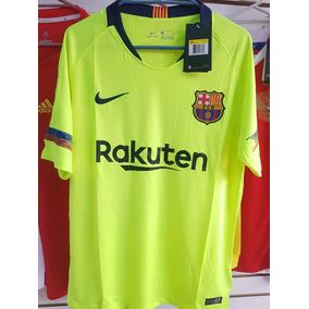 Jersey Playera Barcelona Visita Fosforescente (hay Tallas) 199c95afc17