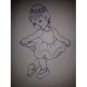 Apostila De Riscos De Desenhos Tema Enxoval De Bebes