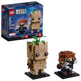 Lego Brickheadz, Marvel, Groot Y Rocket 41626 - Nuevo