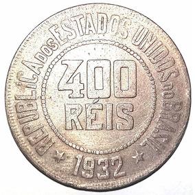 Moeda Rara Antiga - 400 Reis - 1932