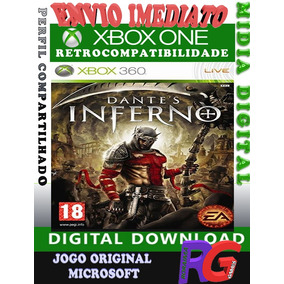 Dantes Inferno - Xbox 360 E One Mídia Digital Roraima Games