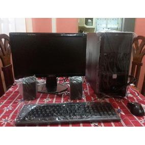 Computadora Dual Core Ful Equipo Con Monitor De 19 Nueva