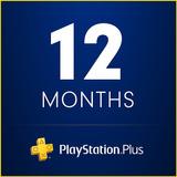 Playstation Psn Plus 12 Meses Juego En Linea
