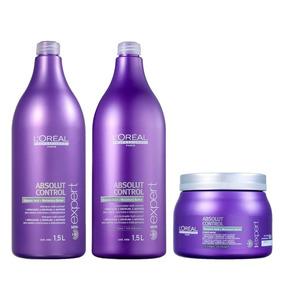 Shampoo Condicionador Máscara Absolut Control - L