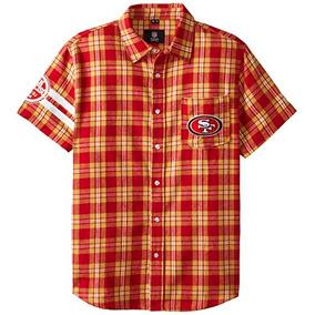 Klew Nfl San Francisco 49ers Wordmark Franela Manga Corta Ca 5c64a5ba544ec