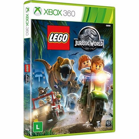 Game Lego Jurassic World Xbox 360 Dvd Midia Fisica Original