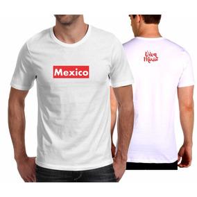 Camiseta Playera Viva México Tipo Supreme 63a4120c72d2d