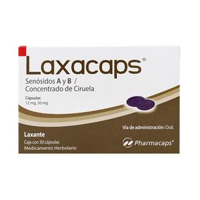 Laxante Laxacaps Senósidos A Y B C/30 Cápsulas