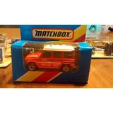 Matchbox Mercedes Wagon Caja Visor