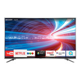 Smart Tv Led 75 Pulgadas 4k Sharp Uhd Hdr Netflix Youtube Wf