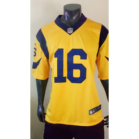 a70c6d011 Jersey Los Angeles Rams Jared Goff Mediana Adulto Rush
