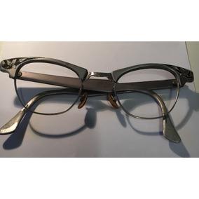 Armação De Óculos Vintage Anos 50 Americana Super Leve Alum 2536642c5d