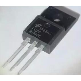 4 Pc Transistor Fqpf8n60 * P8n60 * 8n60 * 8n60 * P8nk60c