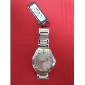 Relógio Tommy Hilfiger, Pulseira Cromada. Produto Novo!