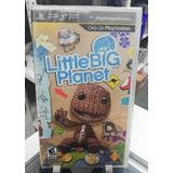 Little Big Planet Juego Físico Psp Nuevo Sellado Sony