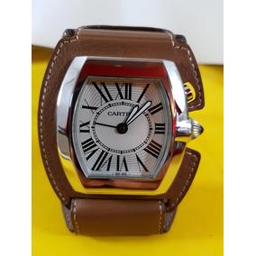 Hermoso Reloj De Viaje Cartier Roadster Con Despertador